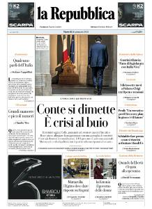 la Repubblica - 26 Gennaio 2021