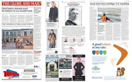 The Globe and Mail – October 30, 2017
