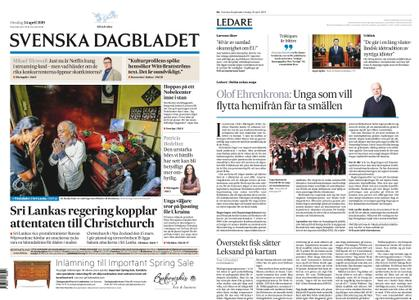 Svenska Dagbladet – 24 april 2019
