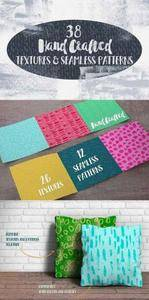 CreativeMarket - Hand Crafted Textures and Patterns