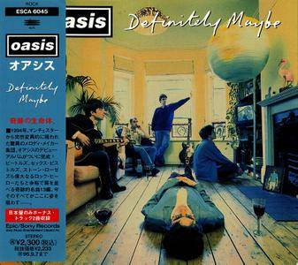 Oasis - Definitely Maybe (1994) Japanese Press [Re-Up]