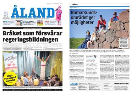 Ålandstidningen – 11 november 2019