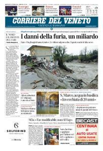 Corriere del Veneto Vicenza e Bassano – 31 ottobre 2018