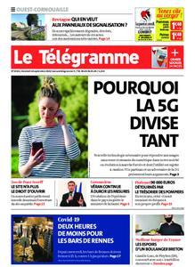 Le Télégramme Ouest Cornouaille – 18 septembre 2020