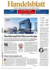 Handelsblatt - 05. Dezember 2017