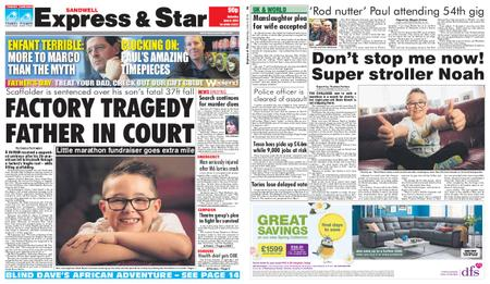 Express and Star Sandwell Edition – June 08, 2019