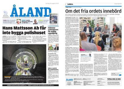 Ålandstidningen – 24 augusti 2019