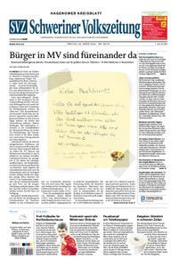 Schweriner Volkszeitung Hagenower Kreisblatt - 20. März 2020