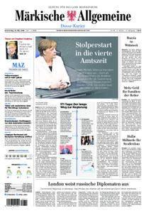 Märkische Allgemeine Dosse Kurier - 15. März 2018