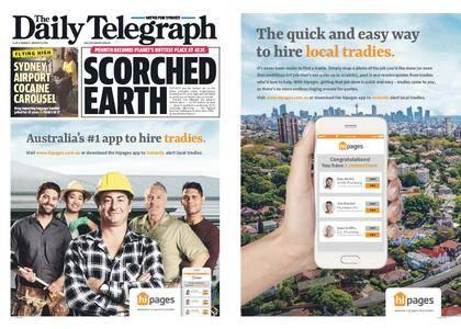 The Daily Telegraph (Sydney) – January 08, 2018
