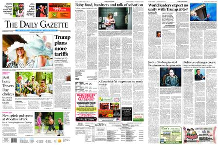 The Daily Gazette – August 24, 2019