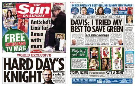 The Sun UK – 24 December 2017