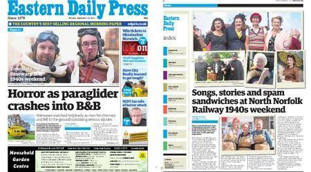 Eastern Daily Press – September 18, 2017