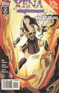 Xena Warrior Princess - The Dragons Teeth 002 (1998) (Topps) (AquilaLorelei TRWBD