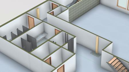 Revit: Professional Office Interior Design