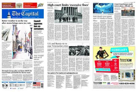 The Capital – February 21, 2019