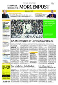 Solinger Morgenpost – 28. Februar 2020