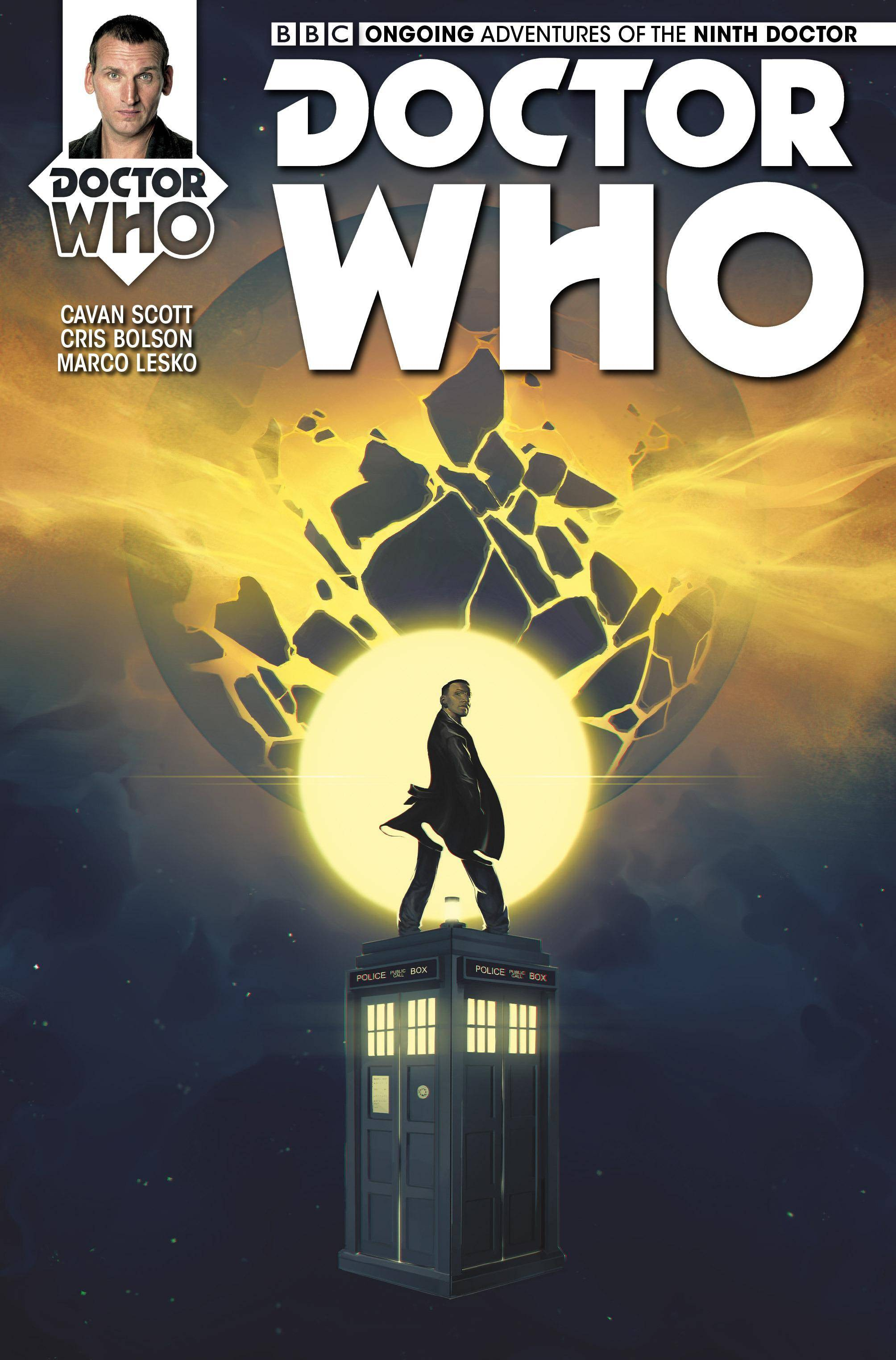 Doctor Who The Ninth Doctor 004 2016 4 covers Digital TLK-EMPIRE-HD