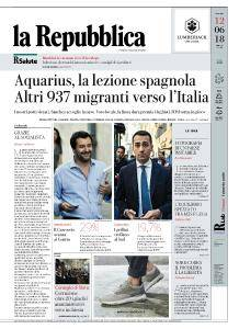 la Repubblica - 12 Giugno 2018