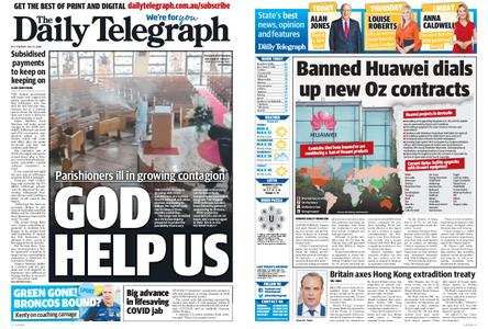 The Daily Telegraph (Sydney) – July 21, 2020