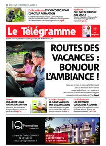 Le Télégramme Ouest Cornouaille – 31 juillet 2021