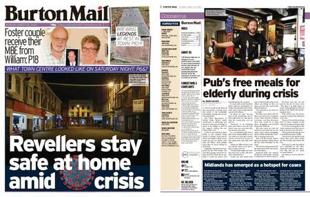 Burton Mail – March 23, 2020