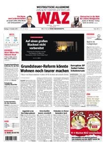 WAZ Westdeutsche Allgemeine Zeitung Oberhausen-Sterkrade - 27. November 2018