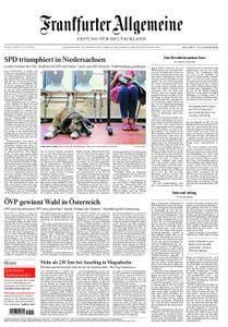 Frankfurter Allgemeine Zeitung F.A.Z. - 16. Oktober 2017