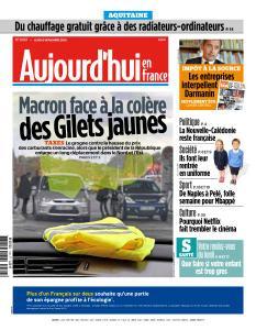 Aujourd'hui en France du Lundi 5 Novembre 2018