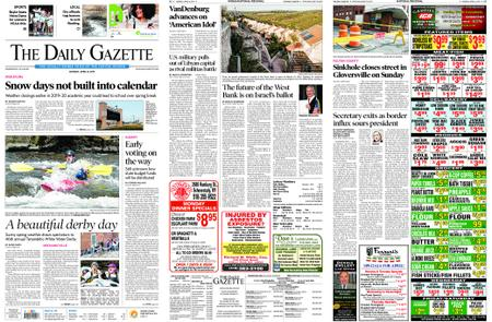 The Daily Gazette – April 08, 2019