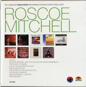 Roscoe Mitchell - The Complete Remastered Recordings On Black Saint & Soul Note (2015) {9CD SET CAM Jazz BXS1036 rec 1977-1995}