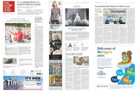 The Globe and Mail – September 24, 2018