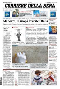 Corriere della Sera – 17 ottobre 2018