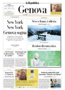 la Repubblica Genova - 18 Novembre 2019