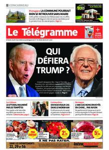 Le Télégramme Concarneau – 05 mars 2020