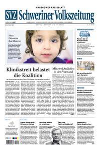 Schweriner Volkszeitung Hagenower Kreisblatt - 09. Dezember 2019