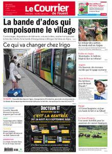 Le Courrier de l'Ouest Angers – 28 août 2020