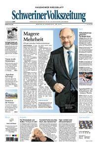 Schweriner Volkszeitung Hagenower Kreisblatt - 22. Januar 2018