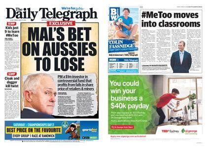 The Daily Telegraph (Sydney) – April 13, 2018