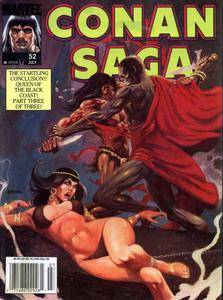 Conan Saga V1987 052 July 1991 Queen of the Black Coast Part 3 On the Track of the She Pirate