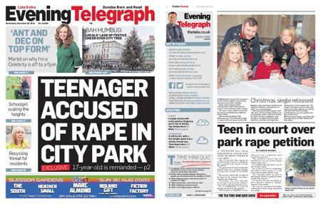 Evening Telegraph First Edition – November 20, 2019