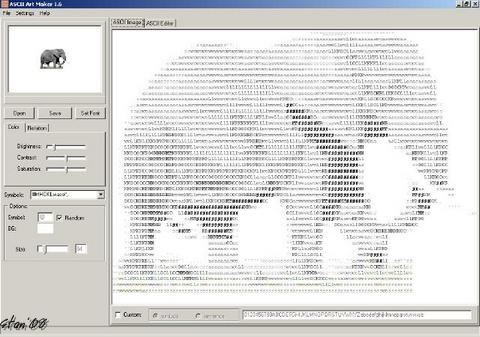 ASCII Art Maker v1.6