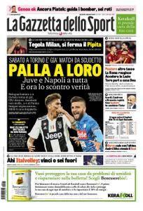 La Gazzetta dello Sport Roma – 27 settembre 2018