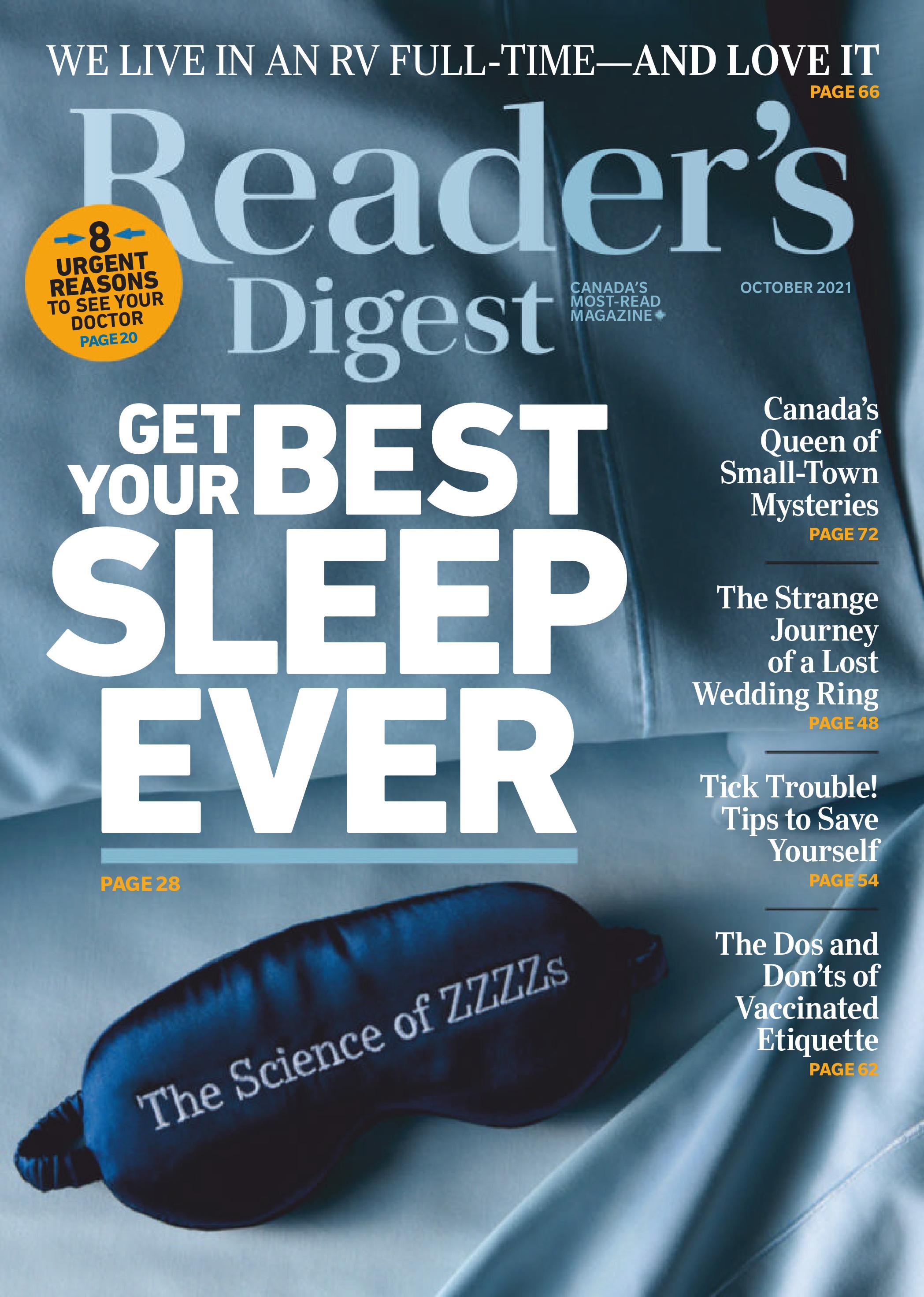 Reader's Digest Canada - October 2021