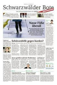 Schwarzwälder Bote Blumberg - 23. Januar 2018