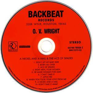 O.V. Wright - A Nickel And A Nail And The Ace Of Spades (1971) Reissue 2010