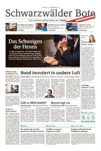 Schwarzwälder Bote St. Georgen, Triberg, Furtwangen - 04. Dezember 2018