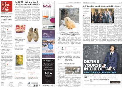 The Globe and Mail – January 23, 2018