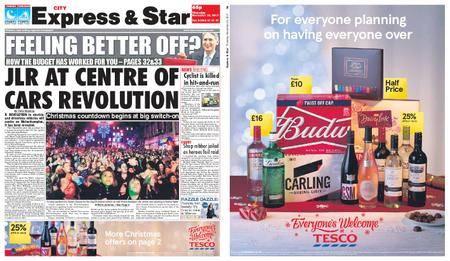 Express and Star City Edition – November 23, 2017