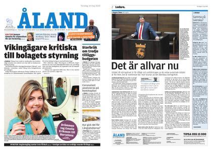Ålandstidningen – 14 maj 2020